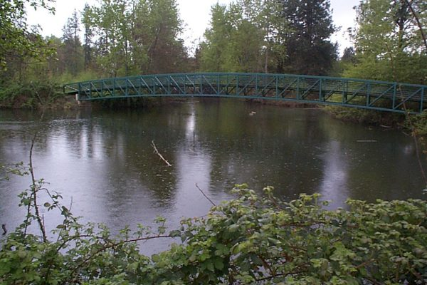 Bridge at All-Sports Park Pond